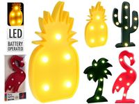 Lampa decorativa mini LED, 25X15X3cm, Tropic