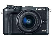 DC Canon EOS M6 + EF-M 15-45 STM KIT Black +  CaseLogic DCB-304