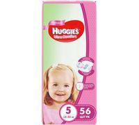 Подгузники Huggies Ultra Comfort Mega 5 Girl (12-22 kg) 56 шт