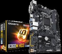 Материнская плата GIGABYTE B360M HD3