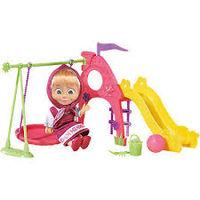 """Кукла """"Маша и Медведь"""" - Маша с детской игровой площадкой 9301816"""