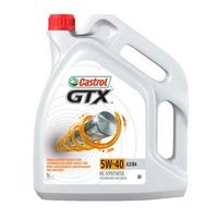 Моторные масла Castrol GTX SAE 5W-40 A3/B4 5л