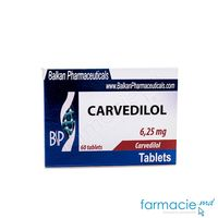 Carvedilol comp.6.25 mg N20x3 (Balkan)