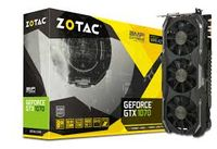 ZOTAC GeForce GTX 1070 AMP! Extreme Edition 8GB DDR5, 256bit, 1835/8208Mhz, Triple Fan IceStorm, HDCP, DVI, HDMI, 3xDisplayPort, Premium Pack