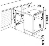 Встраиваемый холодильник Whirlpool ARG 590A+