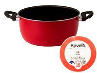 Кастрюля Ravelli N10, D24cm, 5.5l