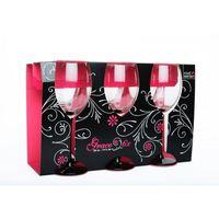 Набор фужеров для вина ROYAL-LEERDAM GRACE BLACK 756036