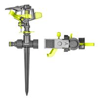Ороситель пульсирующий, на колышке, LIME EDITION, LE-6103