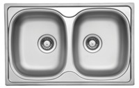 Кухонная  мойка  UKINOX  790  500 /20  0.6