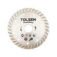 Диск алмазный Turbo 125*22.2mm Tolsen