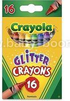 Crayola 52-3716 Восковые мелки с блестками (16 шт.)