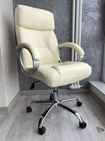 Офисное кресло модель 7037 белый