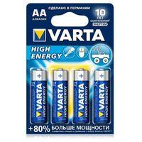 AA/Mignon High Energy alcalina/бл-2 бат. VARTA