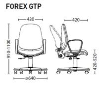 Офисное кресло Новый стиль Forex GTP C11 Black