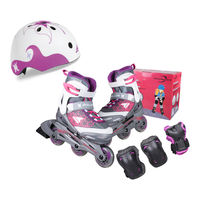 Role copii in compl. Rollerblade Cube G, Kids, 078483009E2 (4in1)