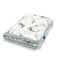 Одеялко La Millou Heron In Cream Lotus / Smoke Mint 100x80 см
