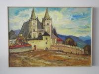 Spišská Kapitula (Словакия), 40x50 см., холст, масло