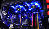 "DEEPCOOL Liquid Cooler ""MAELSTROM 240T Blue"", Socket 775/1150/1151/1155/2011 & FM2/AM3+"