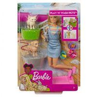 Mattel Барби кукла Домашние питомцы