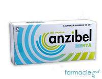 Anzibel menta pastile 5 mg + 4 mg + 3 mg N10x3
