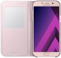 Чехол для моб.устройства Samsung EF-CA720, Galaxy A7 2017, S View Standing Cover, Pink