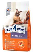 Клуб 4 лапы  для кошек Special Indoor,5кг