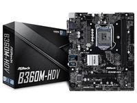 ASROCK B360M-HDV, черный