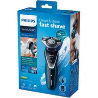 Электробритва для сухого и влажного бритья Philips Shaver series 5000  S5550/44