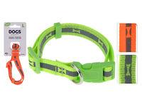Zgarda pentru caini Dogs D25-40cmX1.5cm  neon, 2culori