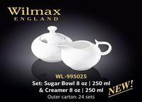 Vas zahar /frisca WILMAX WL-995025 (set 250 ml/250 ml)