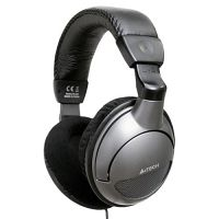A4Tech HS-800 (20-20kHz, 105dB/ 30-16kHz, 58dB) w/microphone