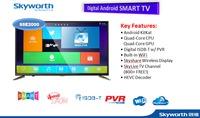 """55"""" LED TV Skyworth 55E2000, Black (1920x1080 FHD, 60Hz, DVB-T/T2/C/S2) (55"""" Full HD, 60Hz, 3 HDMI, 2 USB (foto, audio, video), DVB-T/T2/C/S2, OSD Language: ENG, RU, RO, Stereo surround sound, 14.8Kg)"""