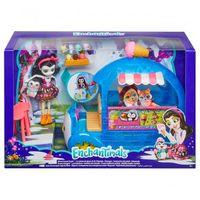 Игровой набор Enchantimals - Фургончик мороженого Прины Пингвины, код FKY58