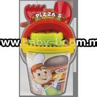 "Androni 1293-0000 Набор для песка ""Пицца"""