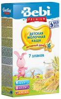 Bebi молочная каша Premium 7 злаков  (6+) 200 гр.