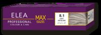 Vopsea p/u păr, SOLVEX Elea Max, 100 ml., 8.1 - Castaniu deschis gri
