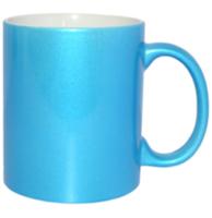 Кружка для сублимации, голубая 11oz