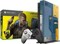 Game Console Microsoft Xbox One X 1TB Cyberpunk 2077 Limited Edition, 1 x Gamepad (Xbox One Controller)