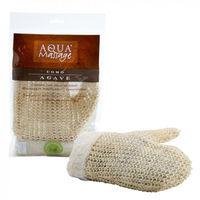 Мочалка-варежка Aqua Massage Uomo Agave oтшелушивающая