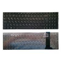 "Keyboard Asus N550 N56 N76 N750 Q550 R552 U500, w/o frame ""ENTER""-small ENG/RU Black"