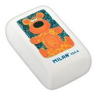 MILAN 424А, Ластик, прямоугольный с полноцветным рисунком (синтетический каучук)