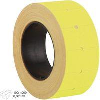 3A Этикетка-ценник 3A 20х12 мм/500 желтый