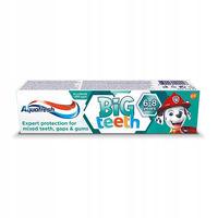 Aquafresh зубная паста для малышей Big teeth, 6 - 8 лет, 50 мл