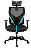 Gaming Chair ThunderX3 Yama1  Black/Cyan