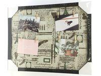 Рамка для фото-коллаж 48x38 см, 4 фото с прищепкой