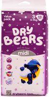 Dry Bears Slim&Cool 3 Midi (4-9 кг) 48 шт.