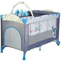 BabyGo Кроватка-манеж Sleepwell Blue
