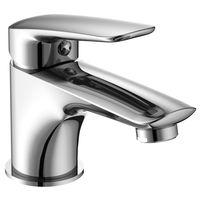 PRAHA new смеситель для умывальника, хром, 35 мм (ванная комната)