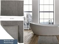 Коврик для ванной комнаты 40X60cm Chenille беж, микрофибра