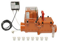 купить Обратный клапан  ПВХ  dn110 с электроприводной заслонкой ArtHL710.2EPC HL в Кишинёве